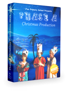 Phase A Christmas DVD Cover