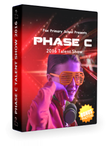 Phase B Christmas DVD Cover 3d